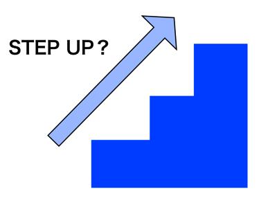 「ステップアップ」を気にしすぎない