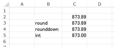 Excelの計算と電卓の計算が合わない理由は端数処理