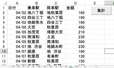 Excel複数シート集計 複数シートにあるすべてのデータをマクロで1枚のシートに【サンプルあり】