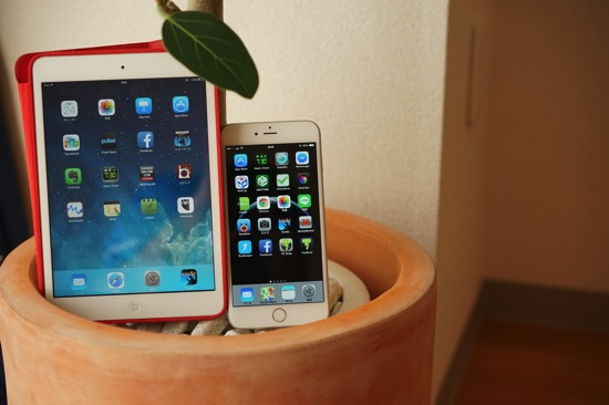 iPadminiとiPhone 6 Plusを徹底比較!似ているようで別物