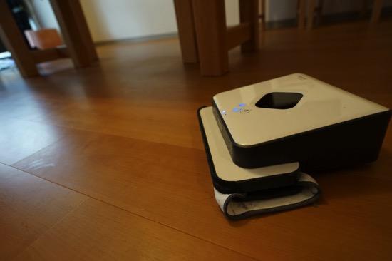 【ブラーバ】レビュー&ルンバとの比較。静かにから拭きも水拭きもしてくれるロボット