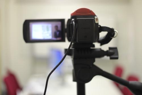 初回はお約束のミス!ビデオカメラでセミナー動画撮影をはじめてやってみました