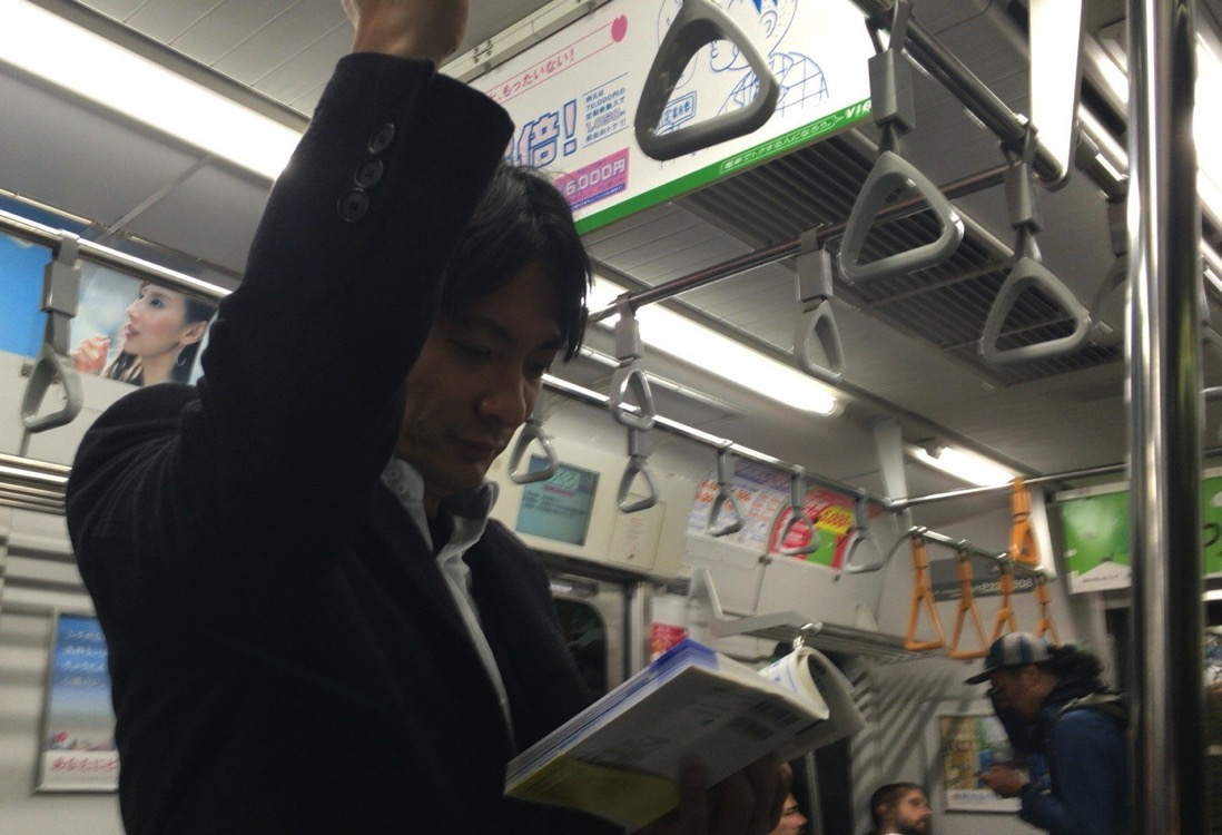 電車移動1,099時間で55冊。読書ではなく情報収集・インプット。