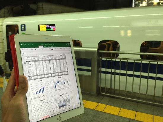 iPad版Excel速攻レビュー!iPad版Excelでできること・できないこと