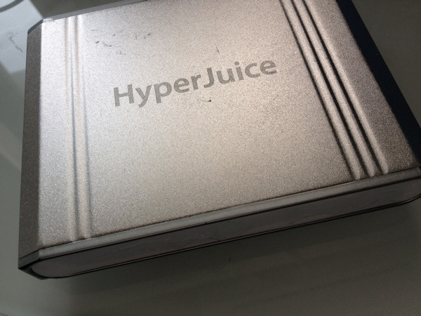 Macの唯一の欠点「バッテリー問題」を解決してくれる『HyperJuice』