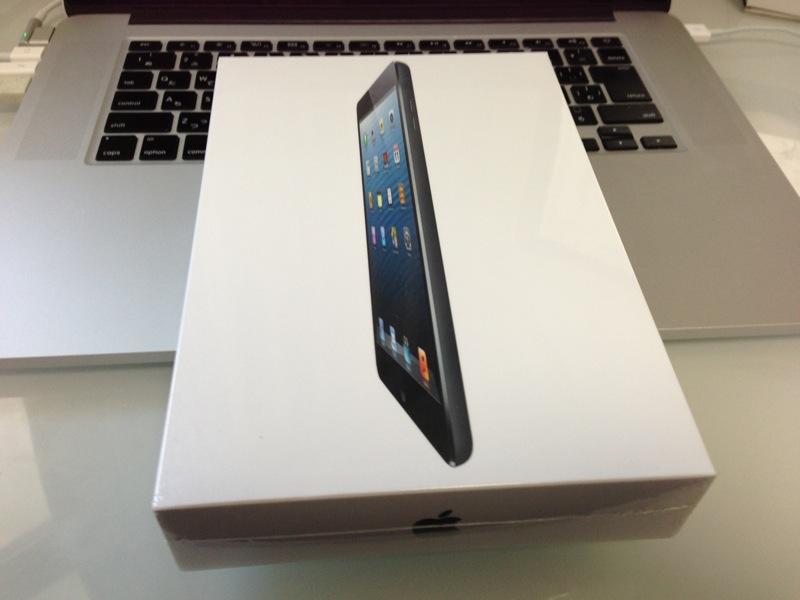 中途半端かも。。。。。iPad miniを使ってみた感想