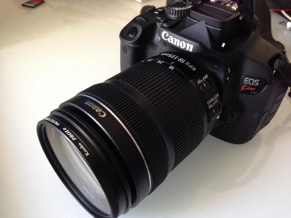 Canon EOS Kiss X6i でデジタル一眼デビュー!未知のものを身につける楽しみと効果