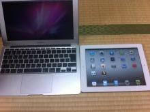 ・iPad2 or MacBookAir ?