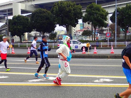 横浜マラソン・着ぐるみサブ4レポート&仮装ランで気をつけるポイント10
