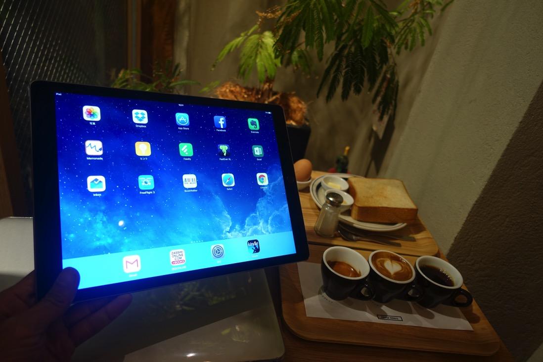 iPad Pro12.9インチとiPad Air 2との比較レポート