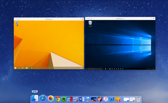MacでWindows10を使うにはParallels Desktop11。Windows8.1との共存も。