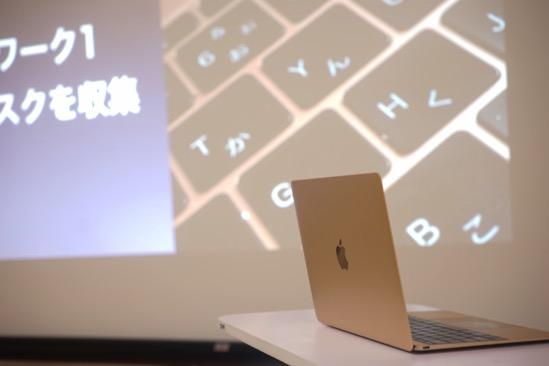 MacBook(12インチ・Retina)をAppleTVでプロジェクター・ディスプレイに無線で接続してみた