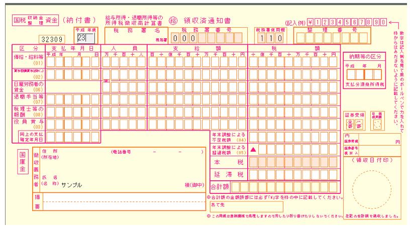 Excelで源泉所得税の納付書を作るよりもネット納付をやった方が楽