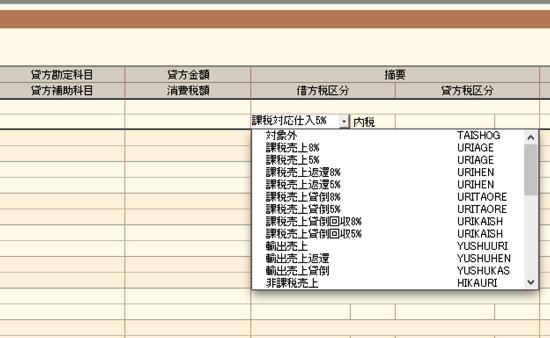 消費税 会計ソフト