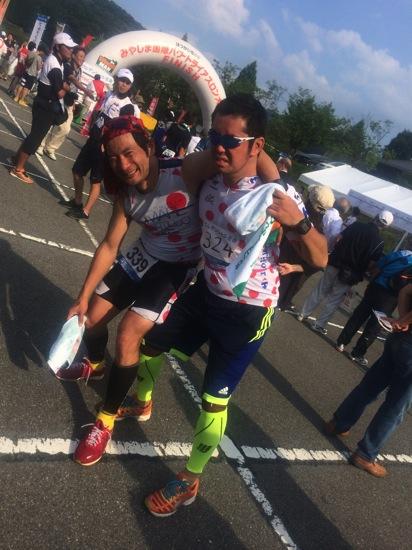 みやじまパワートライアスロン完走記。瀬戸内海横断2.5km&急坂バイク55km&急坂ラン20km!