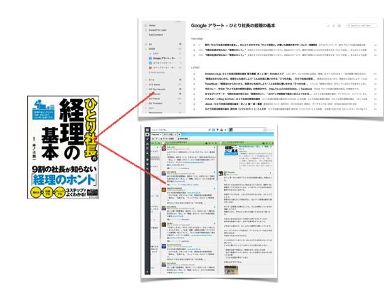 Googleアラート+feedly・HootSuiteでネット上の反応を集める方法。『ひとり社長の経理の基本』8,000部重版、15,000部となりました。