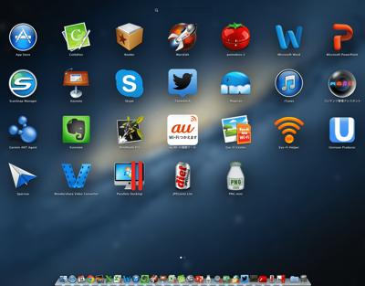 MacのLaunchPad mini