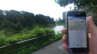ポケモンGO(Pokémon GO)のタマゴ孵化ランニング(ジョギング)。皇居2周10kmレポート