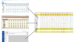 ネ申会計ソフトの推移表をExcelで加工する戦い。弥生・freee・MF。