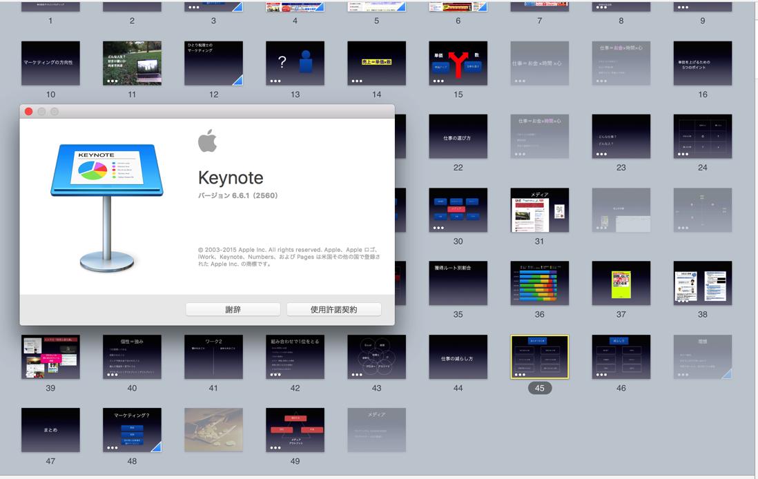 Keynote入門。スライドの作り方、ショートカットキー、セミナー・プレゼン時の使い方