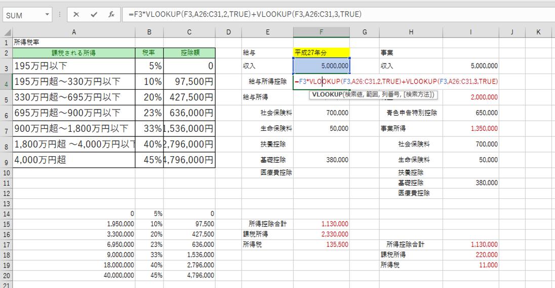 他人が作ったExcelファイルを解読する方法。ジャンプで数式が入っているセルを目立たせる。