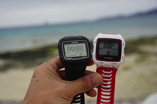 Garmin920XTJ。防水・22時間駆動・より軽いトライアスロン用の時計。