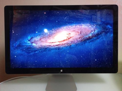 ・2,560×1,440の解像度!「Apple LED Cinema Display(27インチ)レビュー」