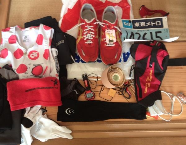 オススメ度つき「東京マラソン2012で使った飲み物・食べ物・グッズ・ウェア・アプリ」