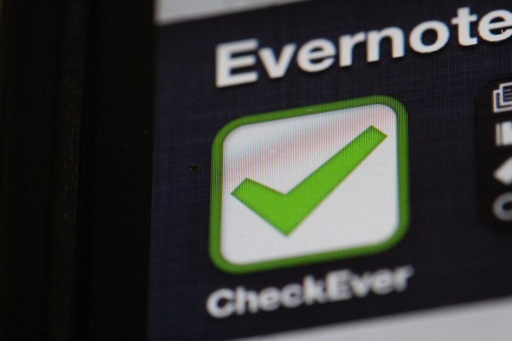 繰り返し業務に効く!EvernoteーiPhoneのCheckeverを使ったチェックリスト活用法