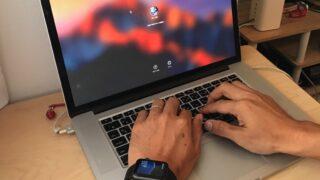 Apple Watchで、Mac(Sierra)のロックを一瞬で解除。設定&実証実験。