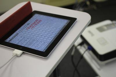 iPadで解説!「復興特別法人税付き法人税申告書勉強会」を開催します