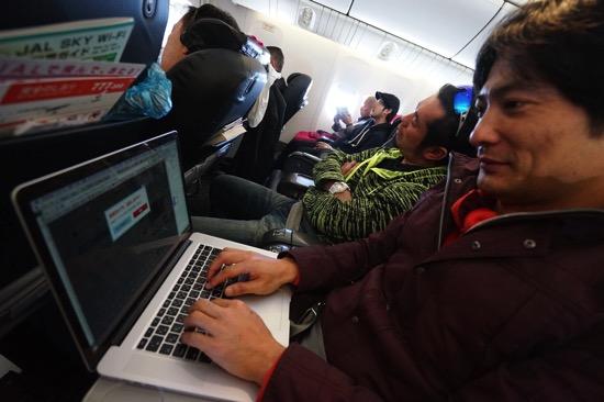 30分400円。機内でネットが使えるJAL SKY Wi-Fi体験レポート