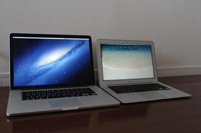 PCは突然壊れる。MacBookAir13インチを急遽買いました。
