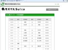 ・Suicaによる交通費の精算 その2 (精算書の作成)
