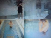 ・冬の水泳