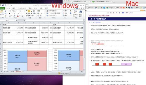 ・MacでWindows