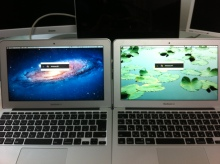 ・新MacBookAir ベンチマークの比較