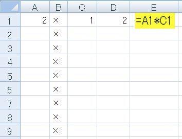 ・Excelの絶対参照と相対参照 その2 Excelへのお願いのしかた