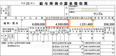 源泉徴収票 住民税チェック