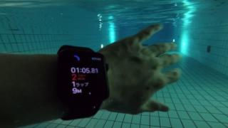 Apple Watch Series 2をプールで使ってみた